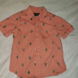 Childrens Place Cactus Shirt